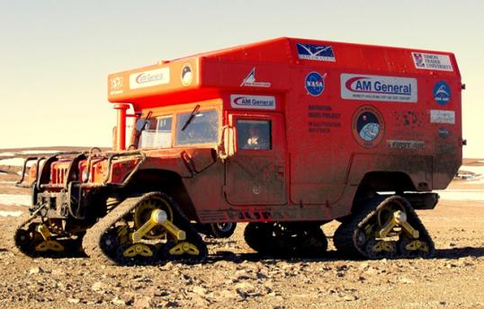 Mars-1 Humvee Rover '2010