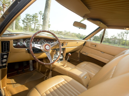 Interior Aston Martin Dbs Vantage Lhd 1967 72