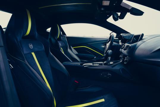 Interior Aston Martin Vantage Amr 59 Worldwide 2019 Pr