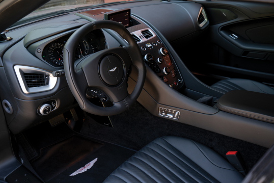 Interior 2017 Aston Martin Vanquish Zagato North America 2017