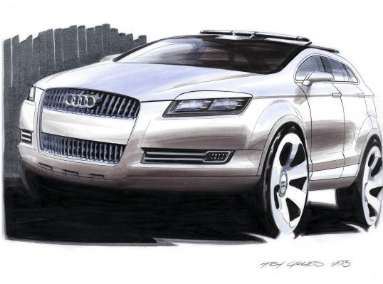 Audi Q7 Sketch