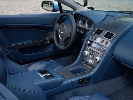Interior Aston Martin V8 Vantage Roadster 2008 12