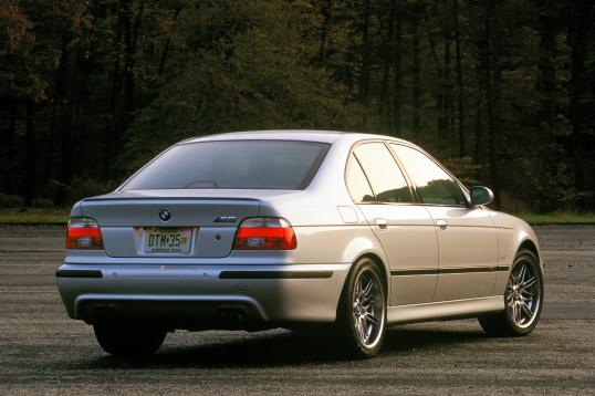 2001 03 Bmw M5 North America E39 2000 03