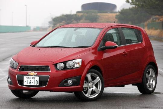 Chevrolet Sonic 5 Door Jp Spec 2011 16