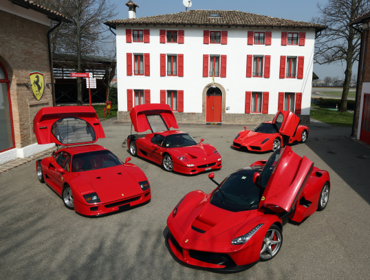 Ferrari F40 Ferrari F50 Enzo Ferrari Laferrari