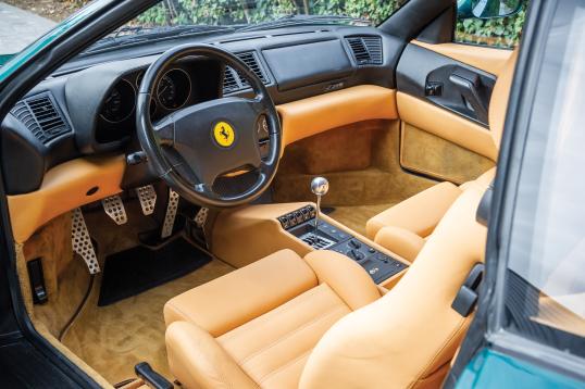 Interior Ferrari F355 Berlinetta Worldwide 1994 99