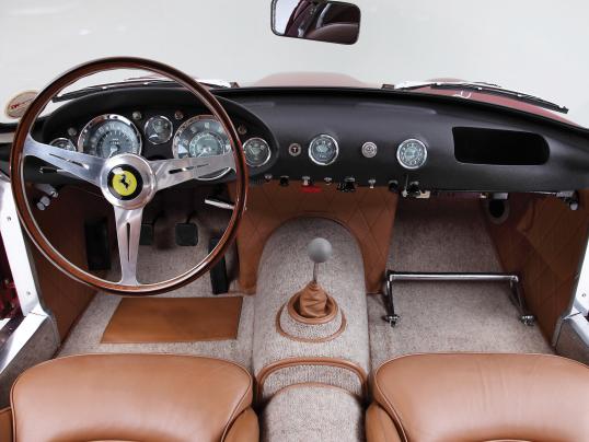 Interior Ferrari 250 Gt Berlinetta Tour De France 0925gt 1958