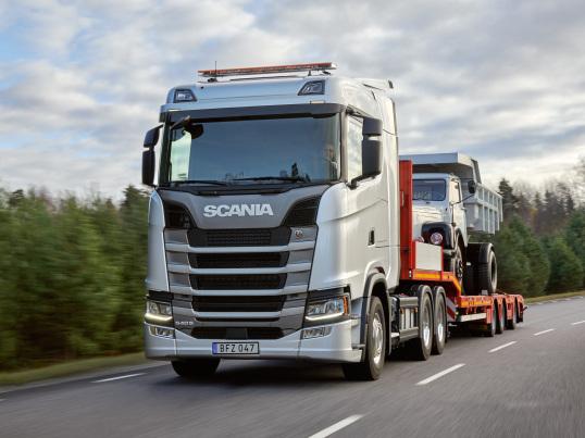 Scania, Scania L110 Dump Truck, Scania 540 S 6×4 Sleeper Cab CS20N